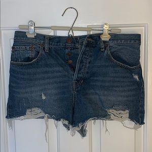 NWOT Free People jean shorts